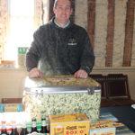 Derrick Ransford, Sales, The Gambrinus Company, representing Shiner Beers.