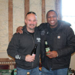 Captain Lawrence Brewing Company's Sales Representatives Doug Beaulieu and Marcus Adams.