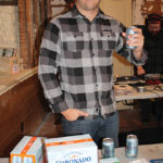 Chris Sharpe, Area Manager, Coronado Brewing Company.