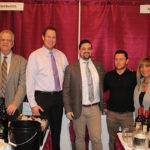 All from Murphy Distributors of Branford: Tim Clarke, Executive Sales Representative; Jeff Wagner, Sales Representative; Matthew Murphy, President and Founder; Branden Hylwa, Key Account and Sales Representative; Catherine Francucci, National Sales Director.