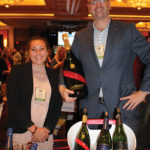 Jocelyn Almodovar, Retail Account Specialist, Pernod Ricard with Arthur Chamberland, New England Market Manager, Pernod Ricard.