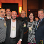 All from Connecticut Distributors, Inc. (CDI): Robert Rustico, Account Development Specialist, Wine; Paul Mazurek, National and Regional Chain Account Manager; Peter Apotrias, Field Sales Manager, Steve Tommessilli, Sales; Rose McLean, Wine Manager; Kyle Rinoski, Casino Account Development Specialist.