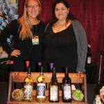 Carolyn's Sakonnet Vineyards' Jessica Walsh and Rachel Brooks. The winery is located in Little Compton, Rhode Island.