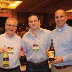 Matt Wimberger, Worldwide Wines; Nick Bonavita, Palm Bay International; John Algieri, Worldwide Wines.