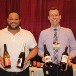 Darchell Wilson, Sales Representative, Latitude Beverage and David McNulty, CT State Manager, Latitude Beverage.
