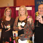 All from Banfi Vinters: Michelle Strollo, Lynn Caramico and Larry Pinkus.