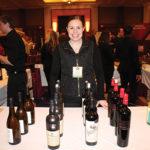 Samantha Hruska of Allan S. Goodman pouring selections from Treasury Wine Estates.