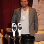 Alex Sirico of CW Distributing of New York featuring wine on tap.