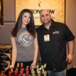 Rachel Landau, Brand Ambassador, Formula Street; Mike Loudon, Heineken USA