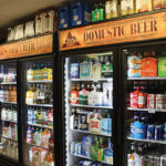 Inside Gardner Lake Liquors.