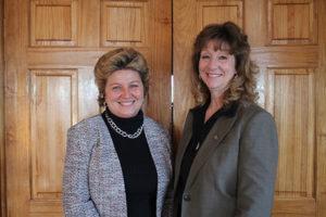Jean Cronin, CPSA and Representative Laura Hoydick.