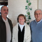 Angelo and Linda Borgia of Linda's Liquors and Wine in Shelton and Curt Hopkins of Super Saver Spirits in Shelton.