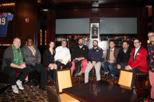 """The Bitter Affair began with a panel discussion titled """"Why is Everyone So Bitter: The Evolution of the American Palate."""" Panelists included Willy Shine of Jägermeister; Duane Sylvestre of Collectif 1806/Remy Cointreau; Lindsay Matteson of New York City's Amar y Amargo; T.J. Delle Donne of Johnson and Wales University; Russ Beauregard of Long Trail Brewing Company; Bill McAvoy of Two Roads Brewing Company; Scott Mayer of Infinium Spirits; Paul Sevigny of DiSaranno; Nick Korn of Offsite and Italian Spirit Specialist of Campari; and moderator of the panel discussion Johnathan Pogash."""