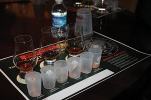 """Following the first panel discussion, Willy Shine, """"Brandmeister"""" for Jägermeister, led an educational tasting of the spirit."""