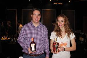 Tucker Reeks, Key Account Manager, Remy Cointreau and Riane Justin, Promotions, Remy Cointreau.
