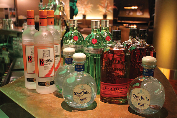 Diageo brands Ketel One Oranje, Don Julio Blanco, Tanqueray 10 and Bulleit Bourbon were the featured spirits during the competition.