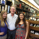 Kellei Coolbeth, Store Manager, Mark Howland, Owner and Alexa Zane, Store Employee.