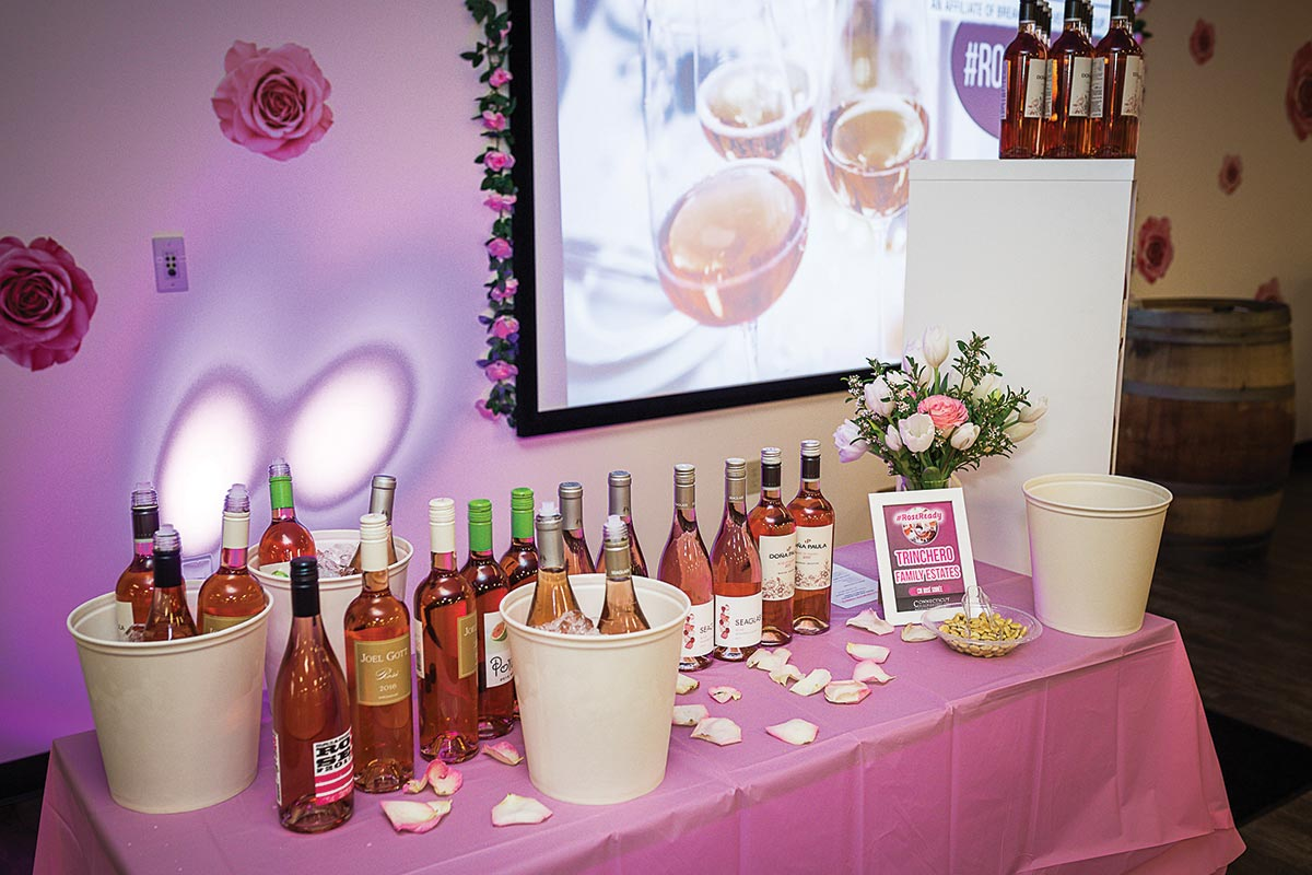 CDI Hosts Rosé Soiree for Team and Accounts