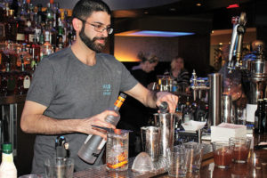 Competitor Jonathan Tellis, Bartender, Hub and Spoke in Bridgeport.