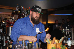 First place winner Juan Meyer, Beverage Director, Z Hospitality Group.