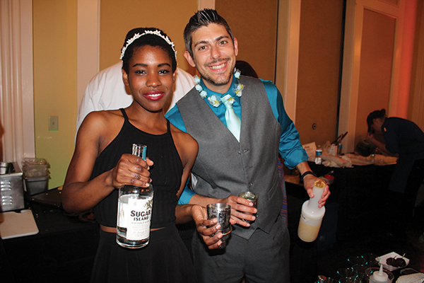 Bar Talent Shines at WNPR's Food Schmooze Martini Competition
