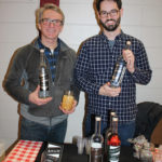 Asylum Distillery of Bridgeport Co-owners Rob Schulten and Neil Doocy.