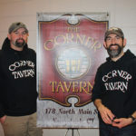 Tom Maugeri and Ryan Whipple of The Corner Tavern. Maugeri was pouring selections from Back East Brewing Company of Bloomfield and Half Full Brewery of Stamford.