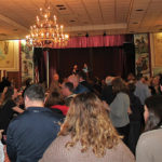 Guests during the Savor CT festival at the Naugatuck Portuguese Club on February 18.