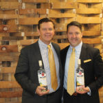 Bacardi's Kevin Hickey and Peter Kawulicz, Business Manager, CDI with Bacardi Banana.