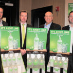 Beau Hodges, Region Manager MA/RI, Pernod Ricard; Kevin McCann, Vice President Pernod Ricard Portfolio MA/RI United Division, Martignetti Companies; Joe Morenzi, General Manager, Rhode Island Distributing Co.; Chris Woods, Vice President Sales, Rhode Island Distributing Co.