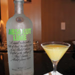 The Absolut Lime N' Coconut Martini.