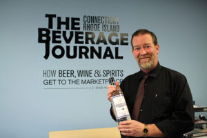 John Maguire, Sales Representative, Ace Distributing with Dutchcraft Vodka.