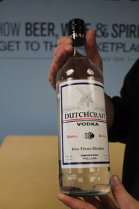 Dutchcraft Vodka of Holland received a 96-point Platinum Medal from the Beverage Tasting Institute.
