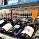 Inside Sherman Wine & Liquor.
