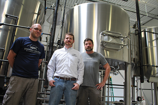 Branford's Thimble Island Brewing Expands, Increases Beer Volume