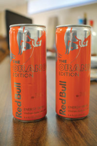 Red Bull Orange, the latest release from Red Bull.