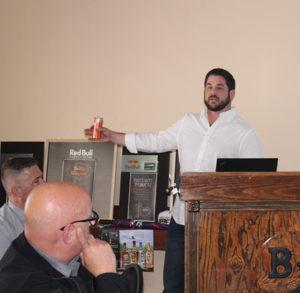 Josh Cardinal, On-Premise Distribution Manager Northeast, Red Bull.