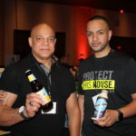 Leo Luciano and Manny Cruz of C & C Distributing.