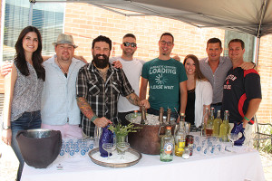 "Shel Bourdon, Plymouth Gin and Beefeater East Coast Brand Ambassador; Roger Gross, USBG CT Member; Dimitrios Zahariadis, USBG CT President; Adam Patrick, USBG CT Member; Jeff Marron, Corporate Bar Manager, Barteca Group; Amanda Morrissey, Retail Account Specialist, Pernod Ricard USA; George ""Hutch"" Hutchinson, Northeast Venture Sales Manager, Pernod Ricard USA; Paul Mazurek, National and Regional Chain Account Manager, CDI and USBG CT Treasurer."