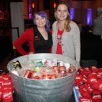 Vanessa Martin and Vanessa LaPorte, Promotional Team, Narragansett Brewing Company.