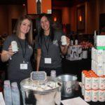 Amy Chauvin and Melanie Espaillat, Brand Representatives RI, Owls Brew.