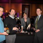Owen Thorpe, Sales Representative, MS Walker; Jamie Matos, Sales Representative; Candace LaRose, Promotions; and Nat Saywell, Fine Wine Manager, MS Walker.