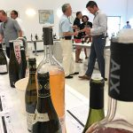 A view from the Worldwide Wines tasting on August 2.