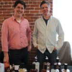 Ned Wight, Owner and Distillery, New England Distillery and Tim Fisher, Head Distiller, New England Distillery.