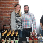 Casey Wright and Chris Leach, New England Sales Manager, Doc's Draft Hard Cider and Black Dirt Distillery.