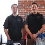 Brenton Mackechnie, Brewer and Distiller, Dirty Water Distillery and Stefan Cyr, Sales, Dirty Water Distillery.