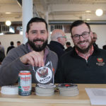 Baxter Brewing Company's Rob Costa, Territory Sales Manager and Luke Livingston, Founder.