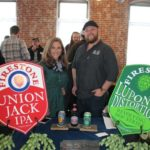 Kristen Demergian, Territory Sales Manager Northeast, Firestone Walker Brewing Company and Jason Hulse, Market Manager CT and RI, Firestone Brewing Company.
