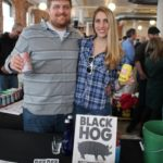 Tom Sobocinski and Laura Buerkle of Black Hog Brewing Co.