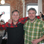 Left Hand Brewing Company's David Aresty, New England Advanced Draft Specialist and Brian Sweeney, Northeast Regional Sales Manager.